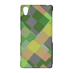 Squares and other shapes Sony Xperia Z2 Hardshell Case
