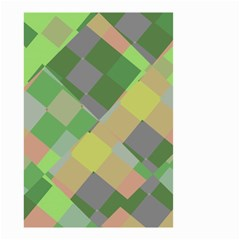 Squares And Other Shapes Small Garden Flag
