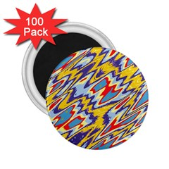 Colorful Chaos 2 25  Magnet (100 Pack)