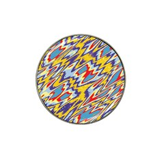 Colorful Chaos Hat Clip Ball Marker