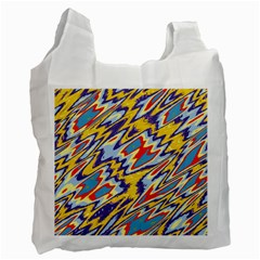 Colorful Chaos Recycle Bag (two Side)