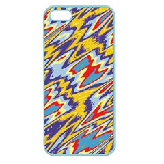 Colorful Chaos Apple Seamless Iphone 5 Case (color)