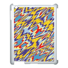 Colorful Chaos Apple Ipad 3/4 Case (white)