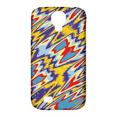 Colorful Chaos Samsung Galaxy S4 Classic Hardshell Case (pc+silicone)