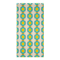 Blue flowers pattern	Shower Curtain 36  x 72