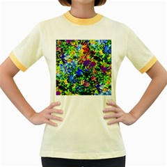 The Neon Garden Women s Fitted Ringer T-Shirts