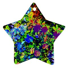 The Neon Garden Star Ornament (two Sides)
