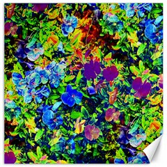 The Neon Garden Canvas 20  X 20