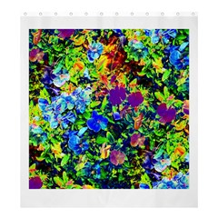 The Neon Garden Shower Curtain 66  X 72  (large)