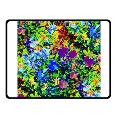The Neon Garden Fleece Blanket (small)