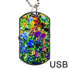 The Neon Garden Dog Tag USB Flash (One Side)
