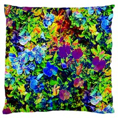 The Neon Garden Large Flano Cushion Cases (two Sides)