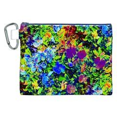 The Neon Garden Canvas Cosmetic Bag (XXL)