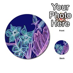 Bluepurple Multi-purpose Cards (Round)