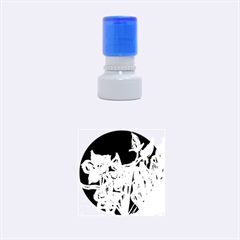 Bluepurple Rubber Round Stamps (small)