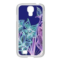 Bluepurple Samsung Galaxy S4 I9500/ I9505 Case (white)