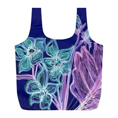 Bluepurple Full Print Recycle Bags (l)
