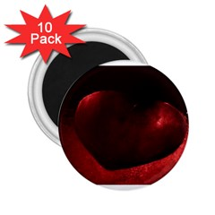 Red Heart 2 25  Magnets (10 Pack)