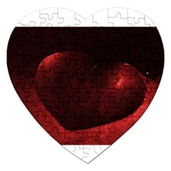 Red Heart Jigsaw Puzzle (heart)