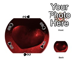 Red Heart Playing Cards 54 (Round)