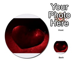 Red Heart Multi Purpose Cards (round)
