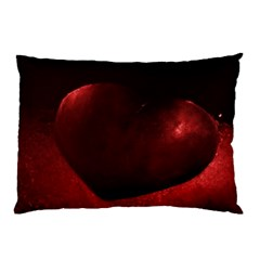 Red Heart Pillow Cases