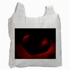 Red Heart Recycle Bag (two Side)