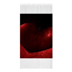 Red Heart Shower Curtain 36  x 72  (Stall)