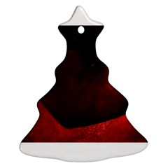 Red Heart Christmas Tree Ornament (2 Sides)