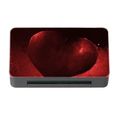 Red Heart Memory Card Reader With Cf