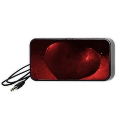 Red Heart Portable Speaker (Black)