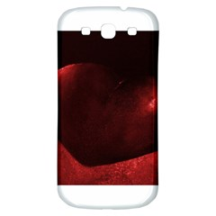 Red Heart Samsung Galaxy S3 S Iii Classic Hardshell Back Case