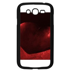 Red Heart Samsung Galaxy Grand Duos I9082 Case (black)