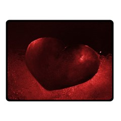 Red Heart Double Sided Fleece Blanket (small)