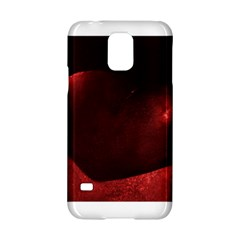 Red Heart Samsung Galaxy S5 Hardshell Case