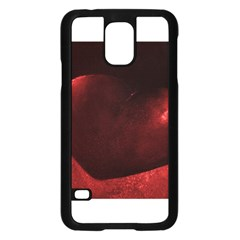 Red Heart Samsung Galaxy S5 Case (Black)