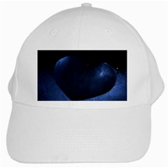 Blue Heart Collection White Cap