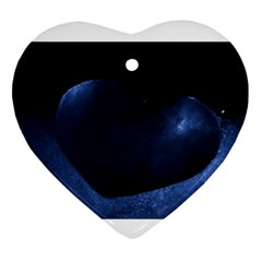 Blue Heart Collection Ornament (heart)