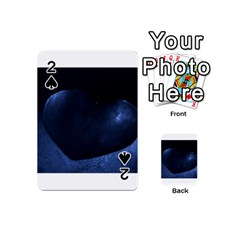 Blue Heart Collection Playing Cards 54 (Mini)