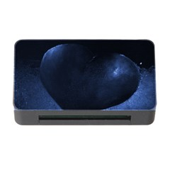 Blue Heart Collection Memory Card Reader with CF