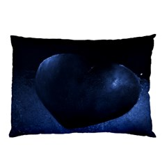 Blue Heart Collection Pillow Cases (two Sides)