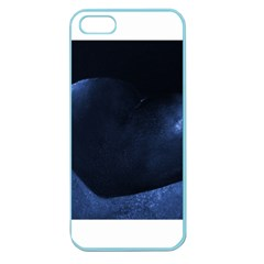 Blue Heart Collection Apple Seamless Iphone 5 Case (color)