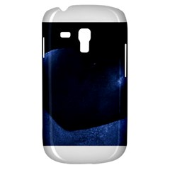Blue Heart Collection Samsung Galaxy S3 Mini I8190 Hardshell Case
