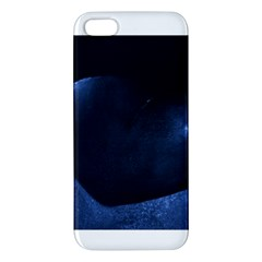 Blue Heart Collection Apple Iphone 5 Premium Hardshell Case