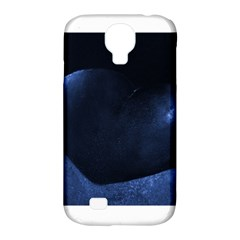 Blue Heart Collection Samsung Galaxy S4 Classic Hardshell Case (pc+silicone)