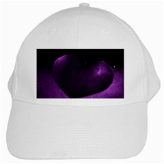 Purple Heart Collection White Cap