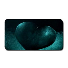 Teal Heart Medium Bar Mats