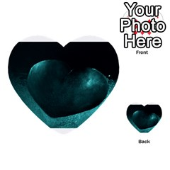 Teal Heart Multi-purpose Cards (Heart)