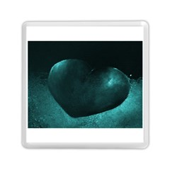 Teal Heart Memory Card Reader (Square)