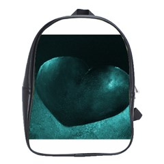 Teal Heart School Bags (xl)